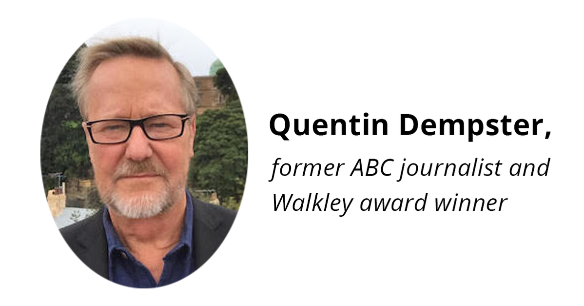 Photo of Quentin Dempster