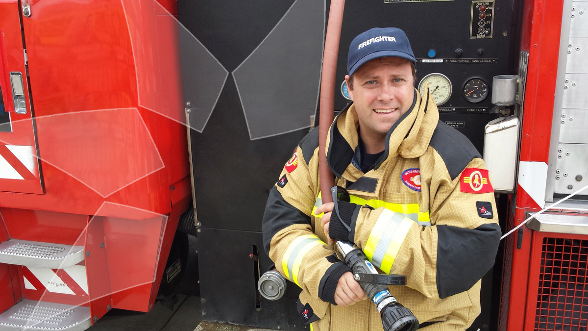 Dean McNulty, firefighter