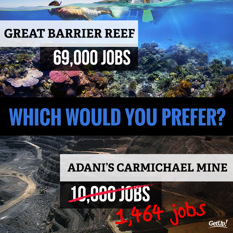 GetUp! - Tell Queensland Labor to say No to Adani